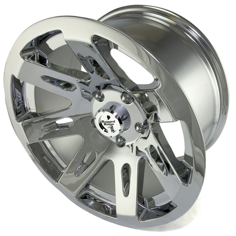 XHD Wheel, 18x9, Chrome by Rugged Ridge ('07-'18 Wrangler JK)