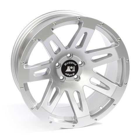 XHD Wheel, 20x9, Silver by Rugged Ridge ('07-'18 Wrangler JK)