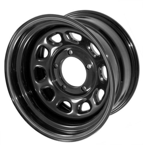 D Window Wheel, 15x8, Black, 5x5.5 ('07-'18 Wrangler JK) - Jeep World