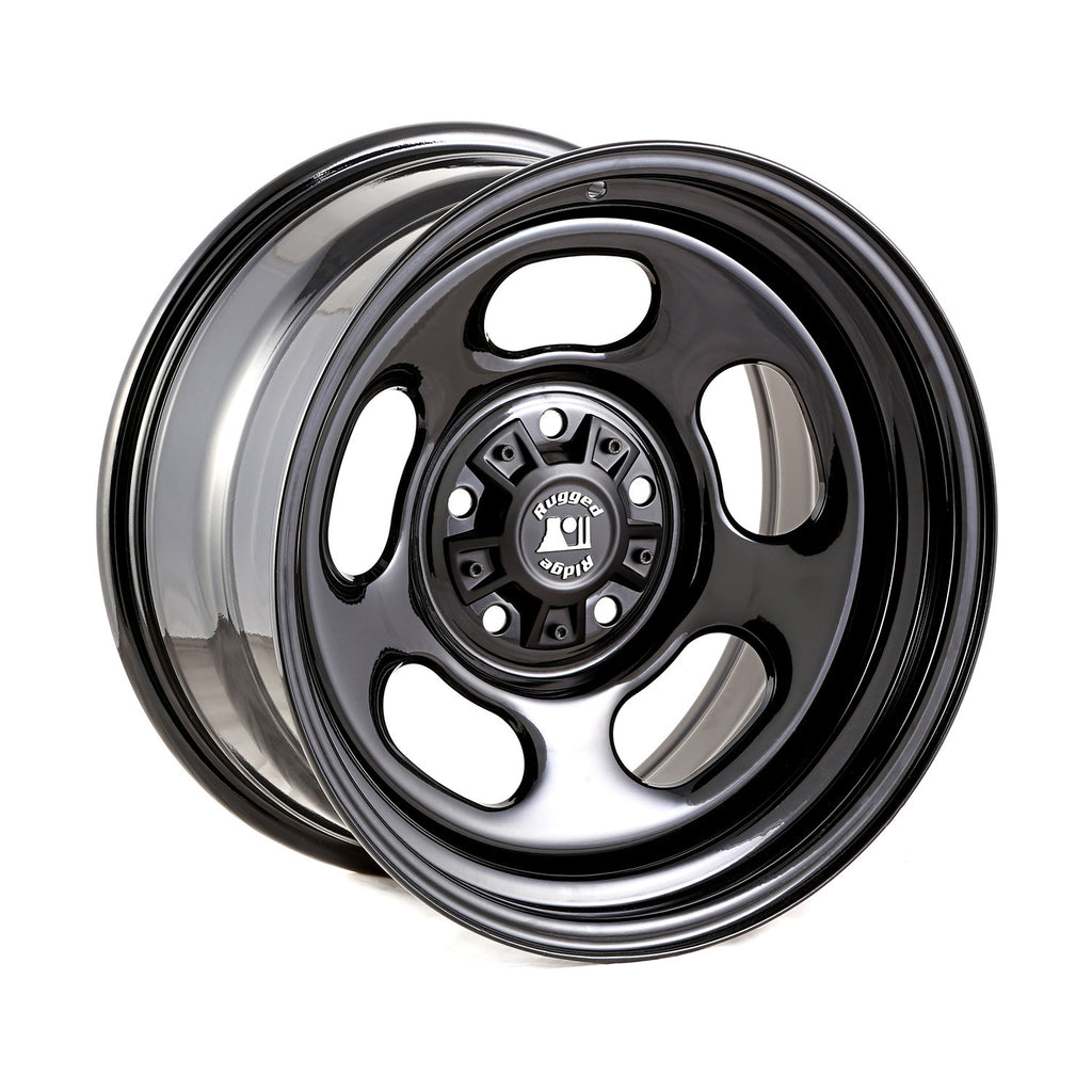black steel wheel - fits Jeep Wrangler