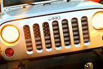"""American Tactical"" Grille Insert by Dirty Acres ('76 - '18 Wrangler CJ, YJ, TJ, JK, JKU) - Jeep World"