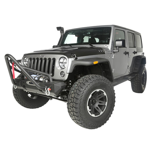 4-Inch Lift Kit with Shocks by Rugged Ridge ('07-'17 Wrangler JK)