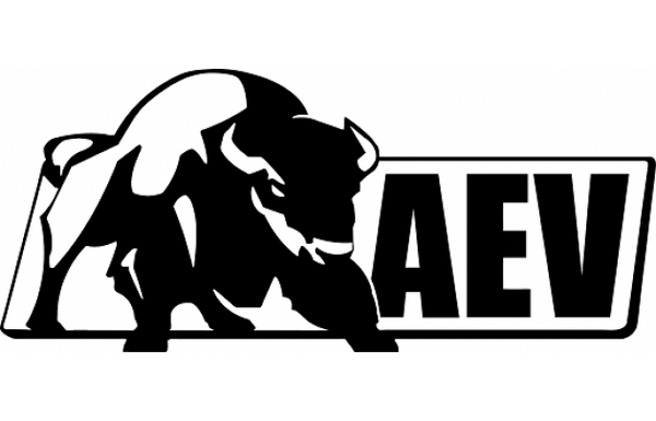 Aev Logo Sticker Black Or White Jeep World