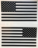 American Flag Tactical Vinyl Decals Set Of 2 Jeep World