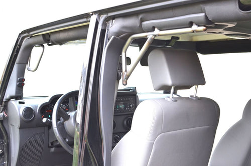 Grab Handle Kit Rigid Design by Steinjager - ('07 - '18 Wrangler JK)