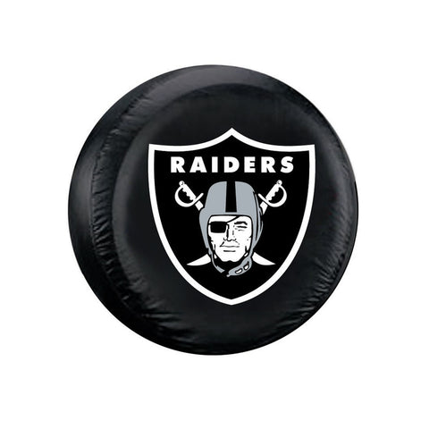 Oakland Raiders NFL Tire Cover (Liberty KJ, Wrangler CJ, YJ, TJ, & JK)