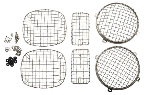 Wire Mesh Guard Set by Kentrol '76 - '06 CJ, Wrangler TJ)