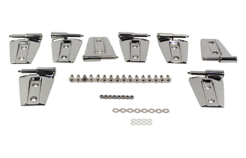 Door Hinge Set, 8 pieces, 4 Door by Kentrol ('07-'18 Wrangler JK)