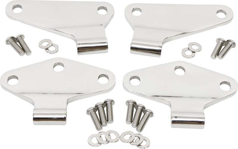 Body Door Hinge Set, 4 pieces, 2 Door by Kentrol ('07-'18 Wrangler JK)