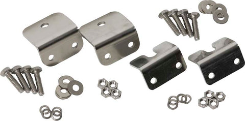 Strut Rod Mounting Brackets, 4 pieces, fiberglass by Kentrol ('72-'86 Wrangler CJ)