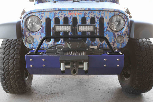 Bumper Light Bar by Steinjager - ('07 - '18 Wrangler JK)