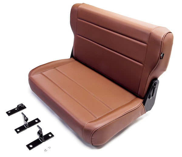 Fold and Tumble Replacement Rear Seat by Rugged Ridge ('76-'95 Jeep Wrangler CJ, YJ) - Jeep World