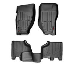 WeatherTech Front DigitalFit All Weather Black Mats ('08-'11 Liberty KK)