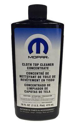 Mopar Cloth Top Cleaner Concentrate