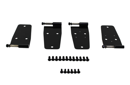 Hardtop Door Hinge Set (4 Pieces) by Kentrol ('76 - '95 CJ, Wrangler YJ)