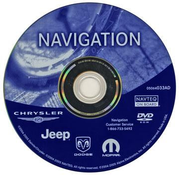 Navigation DVD by Mopar Universal