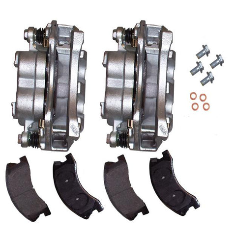 Akebono Brake Caliper Kit by Mopar ('99-'04 Grand Cherokee WJ)