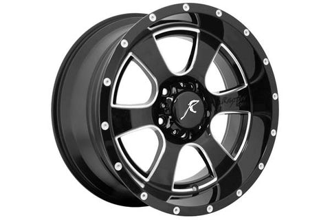 5150 Criminally Insane Wheel, 5x5 Bolt Pattern, 18x9 by Raptor Series ('07-'18 Wrangler JK)