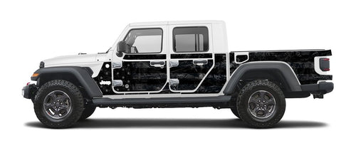 Jeep Wraps Magnetic Armor Kit by MEK Magnet (2020+ JT Gladiator)