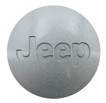 Silver Jeep Wheel Center Cap by Mopar Universal