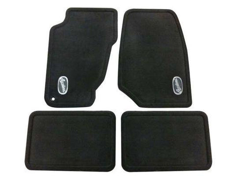 Overland, Front & Rear Floor Mats by Mopar ('04 Grand Cherokee WJ)