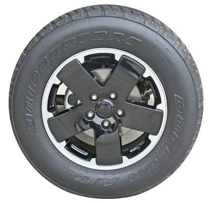 "18"" Altitude Edition Wheel by Mopar ('07-'18 Wrangler JK, '06-'10 Commander XK, '99-'10 Grand Cherokee WJ, WK)"