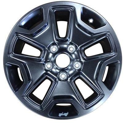 "18"" Black Painted Aluminum MOAB Wheels by Mopar ('07-'14 Wrangler JK, '06-'10 Commander XK, '99-'10 Grand Cherokee WJ, WK) - Jeep World"