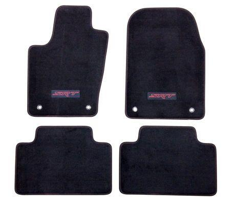 SRT8 Carpeted Floor Mats by Mopar (2015 Grand Cherokee WK2)