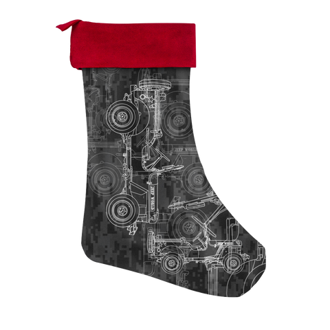 Jeep World Willy's Blueprint Stocking