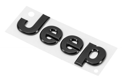 Black Jeep® Replacement Badge by Mopar (Universal)
