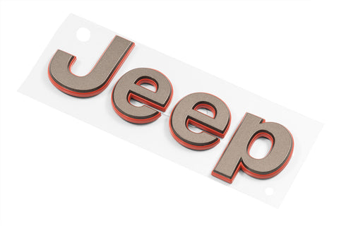 Bronze Jeep® Replacement Badge by Mopar (Universal)
