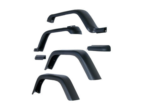 Rugged Ridge Wide Fender Flare Kits ('76-'06 Wrangler CJ, YJ, TJ)