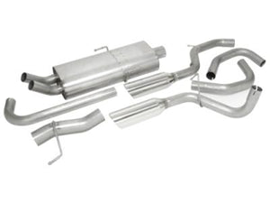 Dual Rear Exit Exhaust System by Mopar ('14-'16 Grand Cherokee WK2 3.2L)