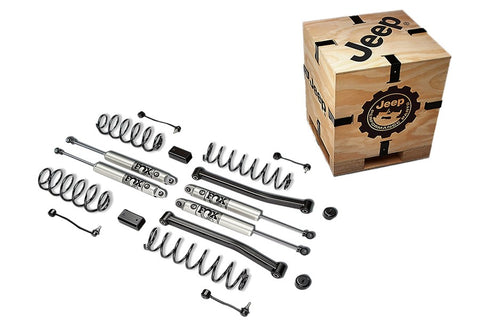 "2"" Lift Kit with Fox Series Shocks By Mopar ('18-'20 Wrangler JLU 4-Door)"