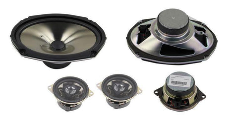 Kicker Front 6x9 Speakers & Tweeters by Mopar ('14-'16 Cherokee KL)