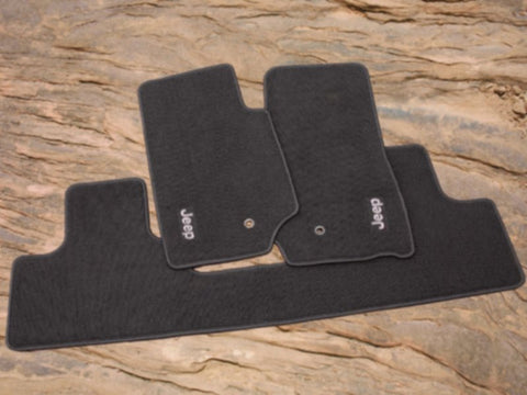 Jeep Wrangler Carpet Floor Mats by Mopar ('07-'08 Wrangler JK)
