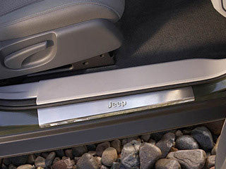 Jeep Liberty entry guard