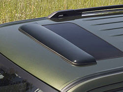 Window Rain Deflectors by Rugged Ridge ('99-'04 Jeep Grand Cherokee)