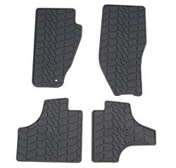 WeatherTech Front Black DigitalFit All Weather Mats ('12 Liberty KK)
