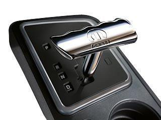 Chrome T-Handle Shift Knob by Mopar (Liberty KK, Grand Cherokee WK, Commander XK, Compass MK, Patriot MK)