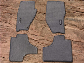 Mopar Carpet Floor Mats, Dark Slate Gray ('09-'10 Liberty KK)
