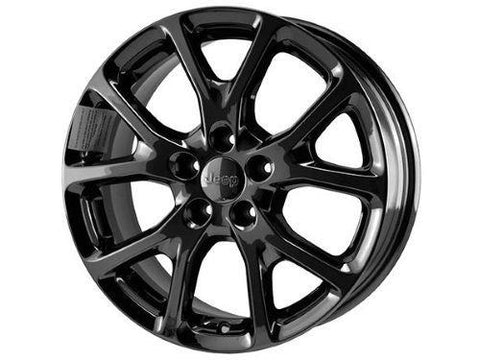 18-inch Cast Aluminum Wheel Kit, Jet Black by Mopar ('14-'18 Cherokee)