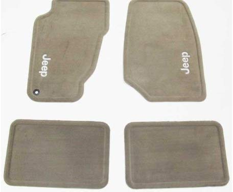 Mopar Carpet Mat Set, Light Frost Beige  ('14-'15 Grand Cherokee WK2)