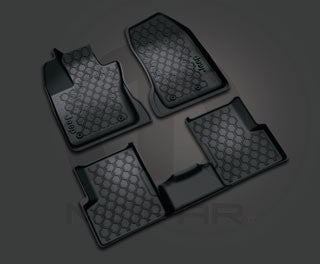 Mopar All-Weather Floor Mats (2015+ Jeep Renegade BU) - Jeep World