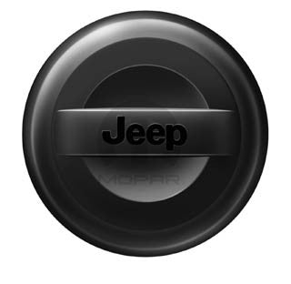 Premium Hard Tire Cover by Mopar (Wrangler CJ, YJ, TJ, & JK)