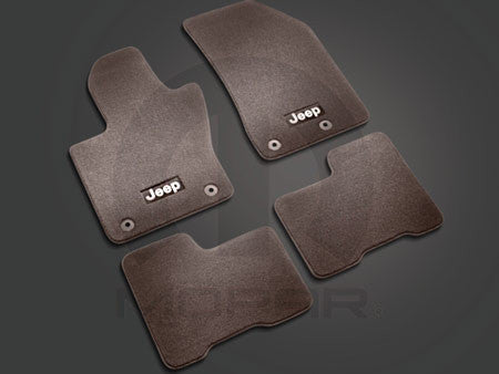 Mopar Carpet Floor Mats ('15-'18 Jeep Renegade BU)