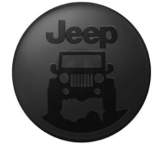"""Jeep On The Rocks"" Hard Tire Cover (Wrangler CJ, YJ, TJ, & JK)"