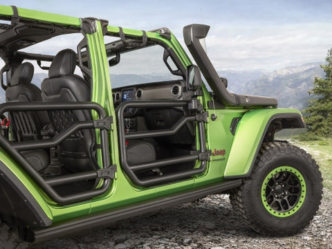 Rubicon Rock Sliders by Fishbone Offroad ('07-'18 Wrangler JKU 4 Door)