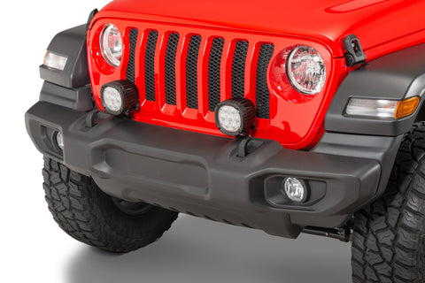 Bumper-mount Light Bracket by Mopar ('20 Gladiator JT, '18-'20 Wrangler JL)