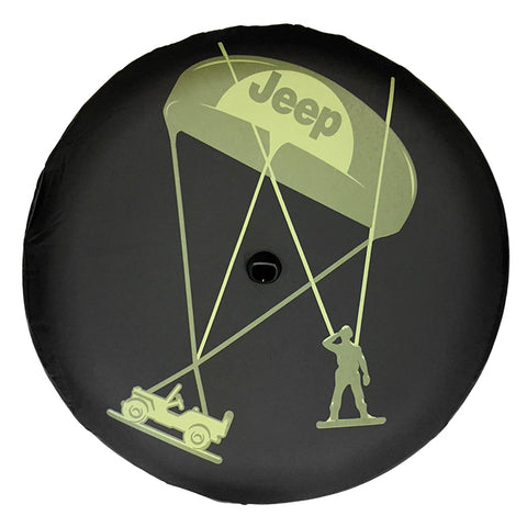 Mopar Willy's Logo Spare Tire Cover ('18-'19 Jeep Wrangler JL)